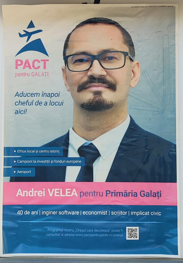 Andrei Velea - PACT pentru GALAȚI - Candidat Primărie