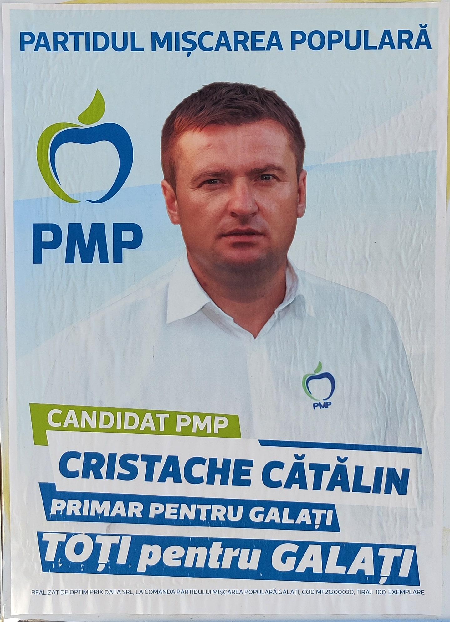 Cristache Cătălin - PMP - Candidat Primărie