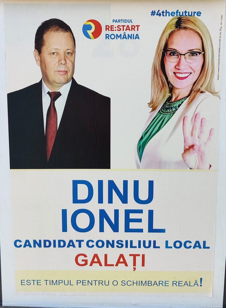 Dinu Ionel - RE:START ROMÂNIA - Candidat Consiliul Local