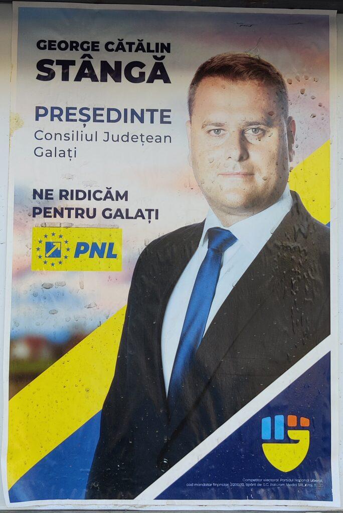 George Cătălin Stângă - PNL - Candidat Președinte Consiliul Județean