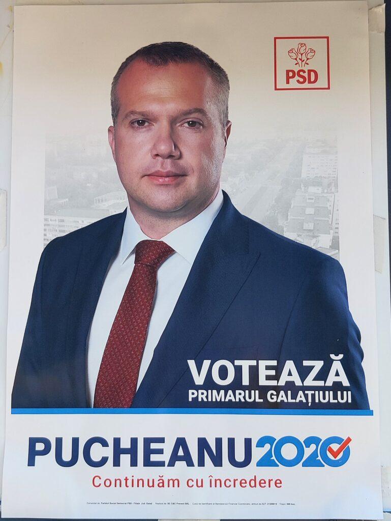 Pucheanu Ionuț - PSD - Candidat Primărie