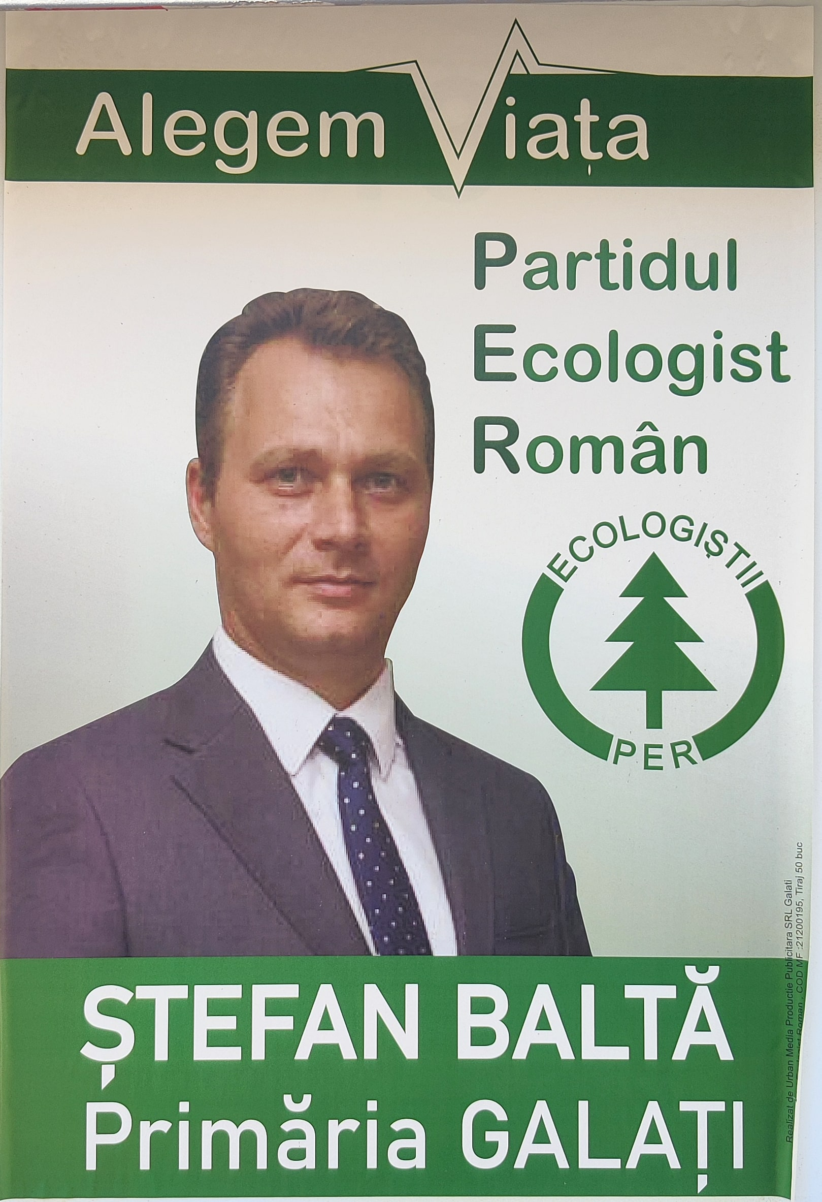 Ștefan Baltă - PER - Candidat Primărie