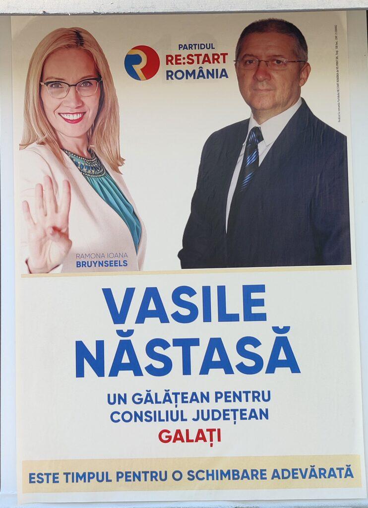 Vasile Năstasă - RE:START ROMÂNIA - Candidat Consiliul Județean